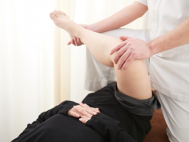 血流を改善してO脚を解消する施術です